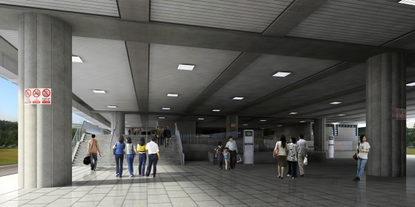 3_Perspective of New Public Walkway at Ground Level