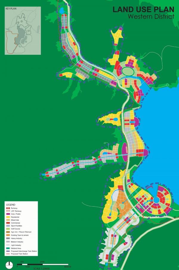 Modern KunmingWESTERN_LANDUSE_Plan