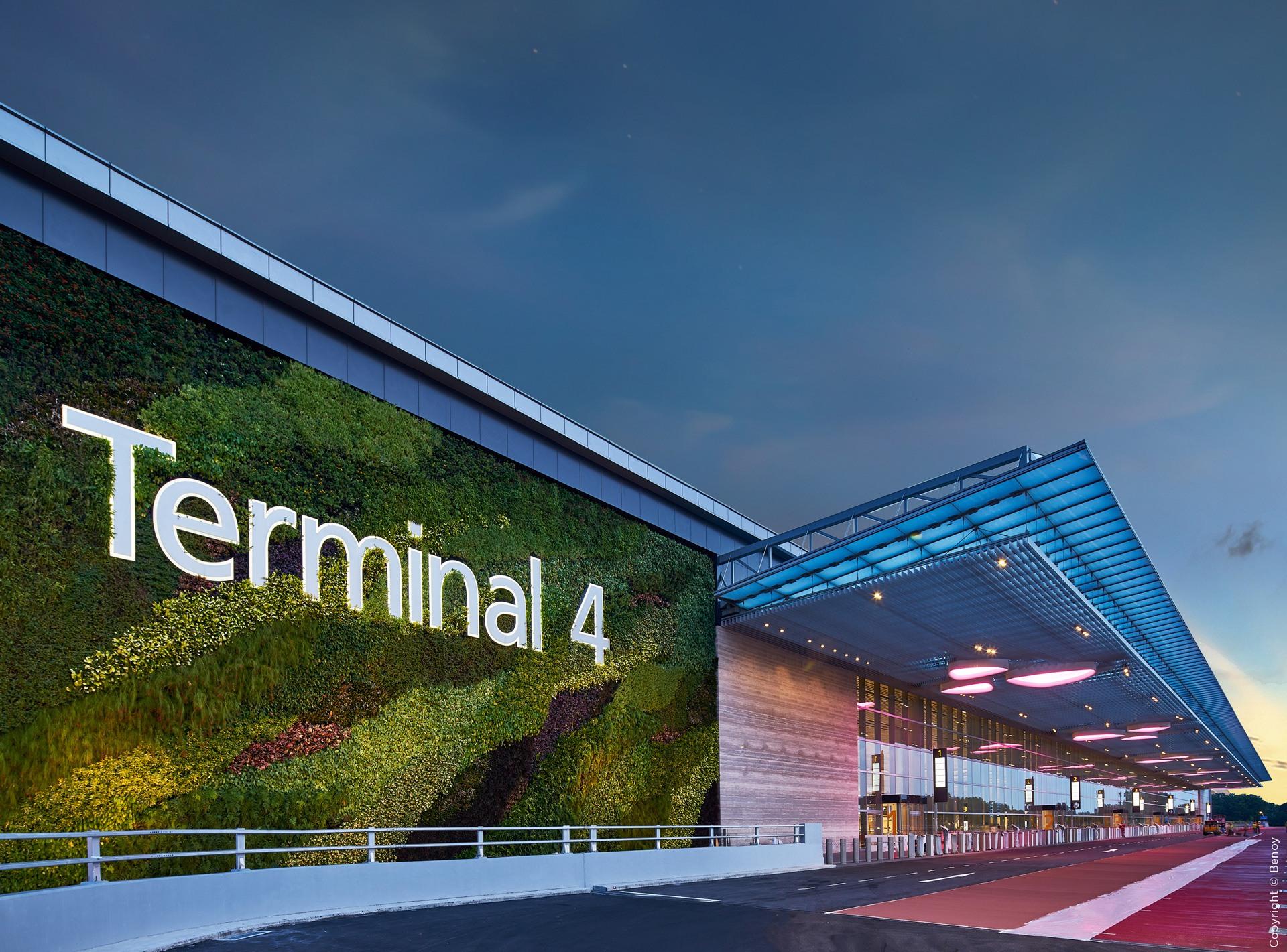 Changi Airport Terminal 4 Saa Group Architects